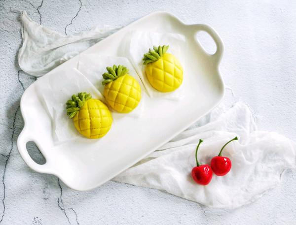 快手 卡通菠萝馒头的做法