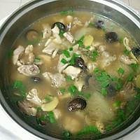 香菇炖鸡汤的做法图解4