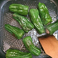 #菁选酱油试用#之虎皮青椒酿肉的做法图解5