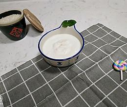 #麦子厨房#料理机出品~牛奶米布的做法