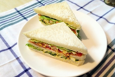简易三明治--8人份