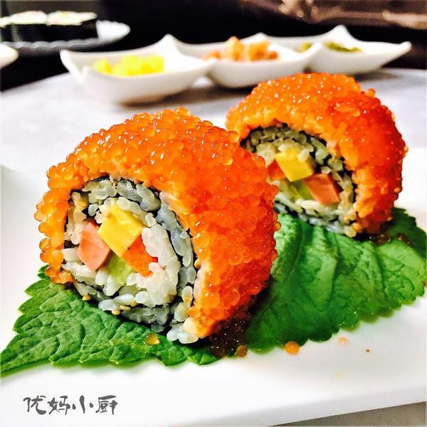 反转寿司及其它几种寿司卷的做法的做法