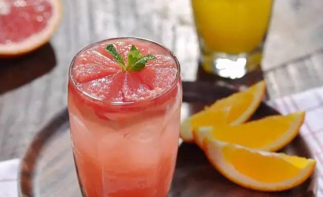 柠檬西柚茶|日食记