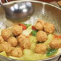 《回家吃饭》菠萝咕咾虾球的做法图解7