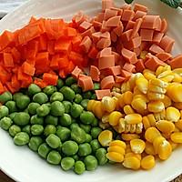 五彩蔬菜#黑人牙膏一招制胜#的做法图解1