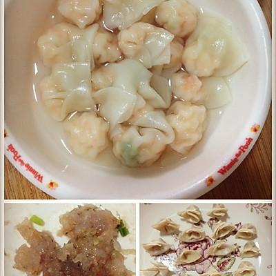 宝宝餐 虾仁小馄饨