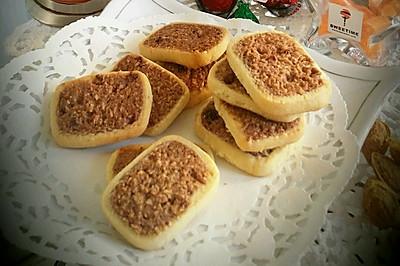朗姆酒葡萄椰蓉饼干