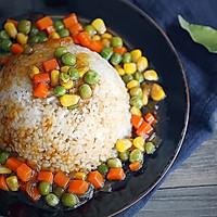 杂蔬糙米发芽饭的做法图解12
