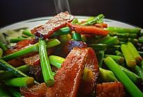蒜苔(蒜苗)炒腊肉|吃不腻吃不够|日常干饭|超级详细的做法