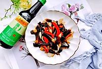 为妈妈烹饪美味菜肴~鸡枞菌炒百合的做法