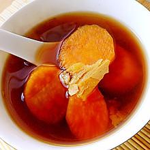 秋季养生红薯糖水