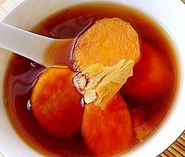 秋季养生红薯糖水的做法