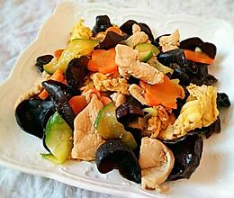 木须肉丨清新味美营养价值高的做法