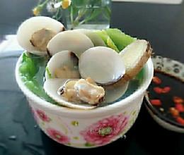 沙白螺芥菜汤【适合夏天喝的汤】的做法