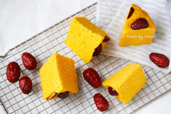 口味不输蛋糕的红枣南瓜发糕的做法