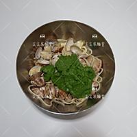 菠菜青酱海鲜意面的做法图解7