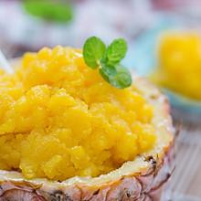 菠萝芒果冰沙