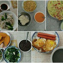中式早餐一星期不重复~简单