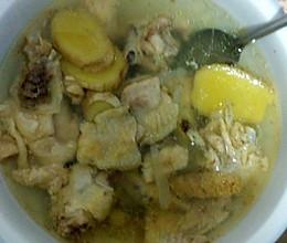 高压锅美味鸡汤的做法