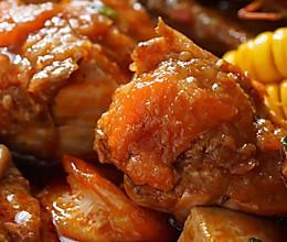 日食记 | 香辣明虾肉蟹煲的做法