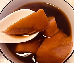 姨妈期间—暖宫红薯汤的做法