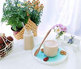 #快手又营养,我家的冬日必备菜品#红枣花生核桃露的做法
