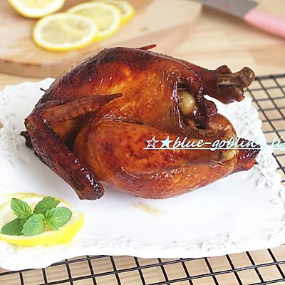 柠檬香茅草烤鸡