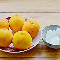 秋季纯天然甜品—糖水黄桃的做法图解1