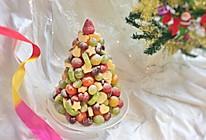 水果圣诞树#令人羡慕的圣诞大餐#的做法