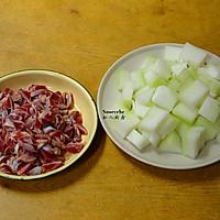 鸡胗滚冬瓜汤的做法图解2