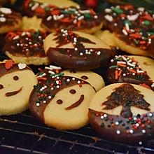 #安佳食力召集,力挺新一年#圣诞黄油曲奇饼干