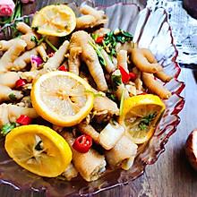 #夏日开胃餐#夏天最爱的柠檬百香果泡鸡爪