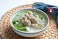 萝卜羊肉丸子汤的做法