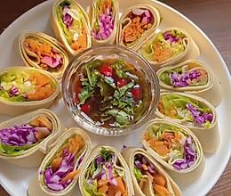 减脂餐 豆皮卷菜的做法