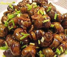 看比赛时吃的炒田螺—亚运美食的做法