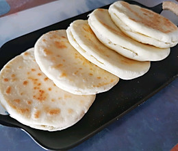 白吉馍饼(无油无盐)的做法