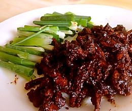 【快手菜】家常——京酱肉丝的做法