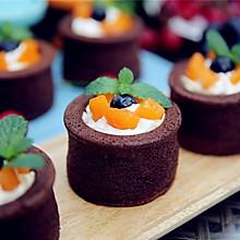 #2016松下大师赛(成都)#香草巧克力杯子蛋糕