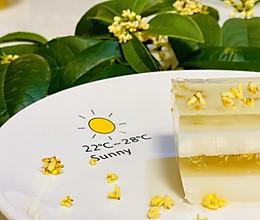 水晶椰汁桂花糕的做法