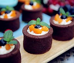 #2016松下大师赛(成都)#香草巧克力杯子蛋糕的做法
