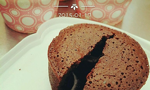 零失败爆浆巧克力蛋糕的做法