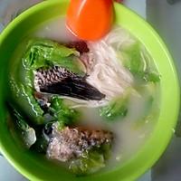 月子 黑鱼汤的做法图解1