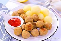 牛肉土豆丸 宝宝辅食食谱的做法