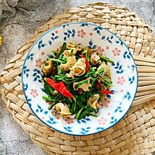 #秋天怎么吃#韭菜炒海螺肉
