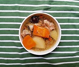 暖胃的胡萝卜土豆鸡汤的做法