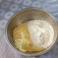 玉米面无糖发糕的做法图解1
