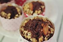 低脂快手香蕉巧克力杯子蛋糕的做法