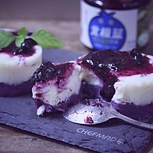 吃一口就停不下的蓝莓紫薯山药泥