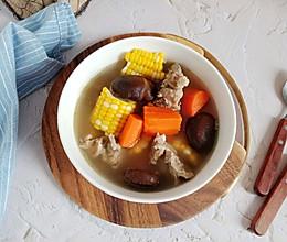红萝卜玉米排骨汤#父亲节,给老爸做道菜#的做法