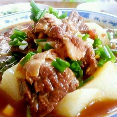 李孃孃爱厨房之一一白萝卜烧牛肉